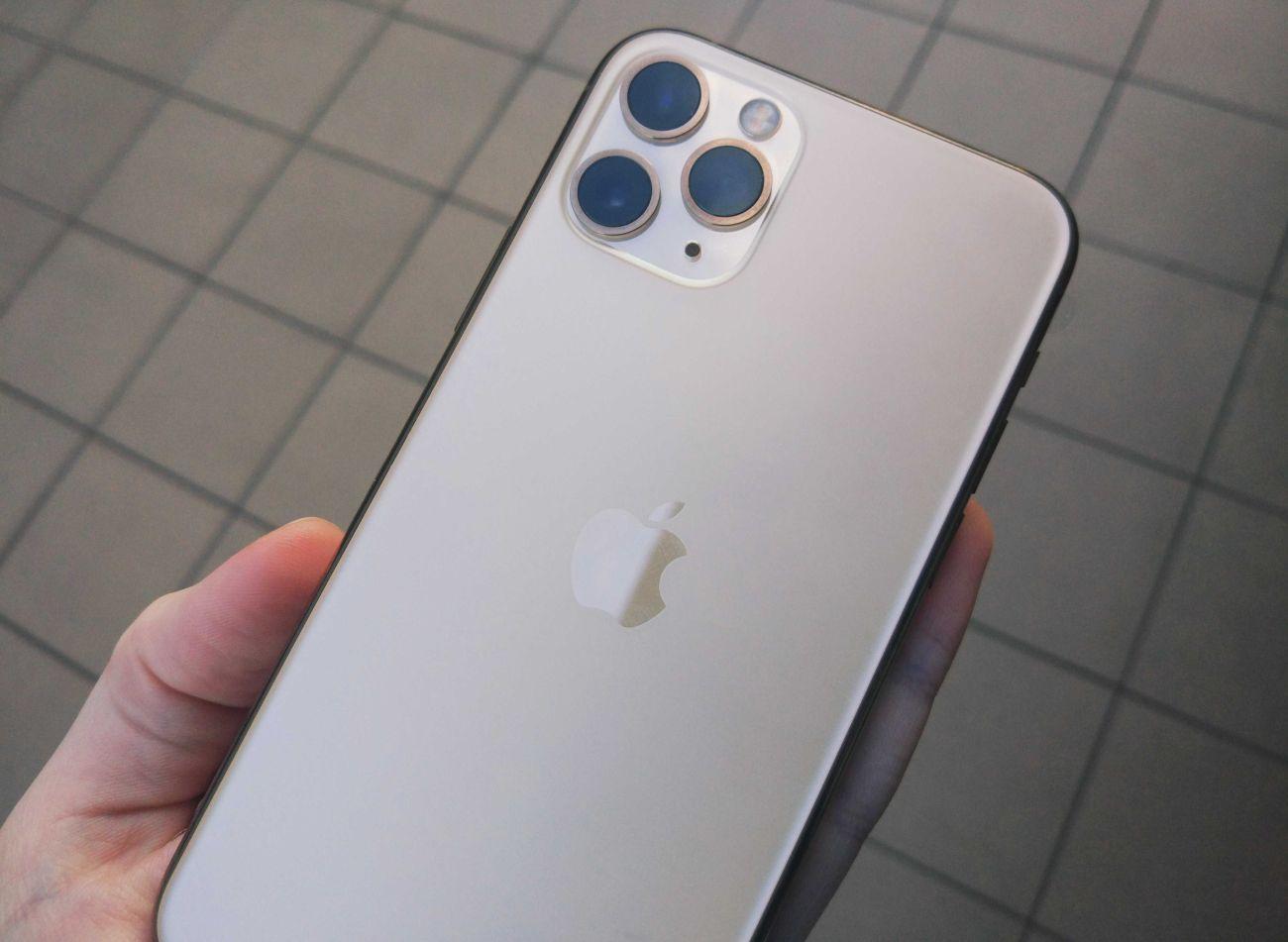 iPhone 11 Pro wygląd z tyłu - matowe wykończenie