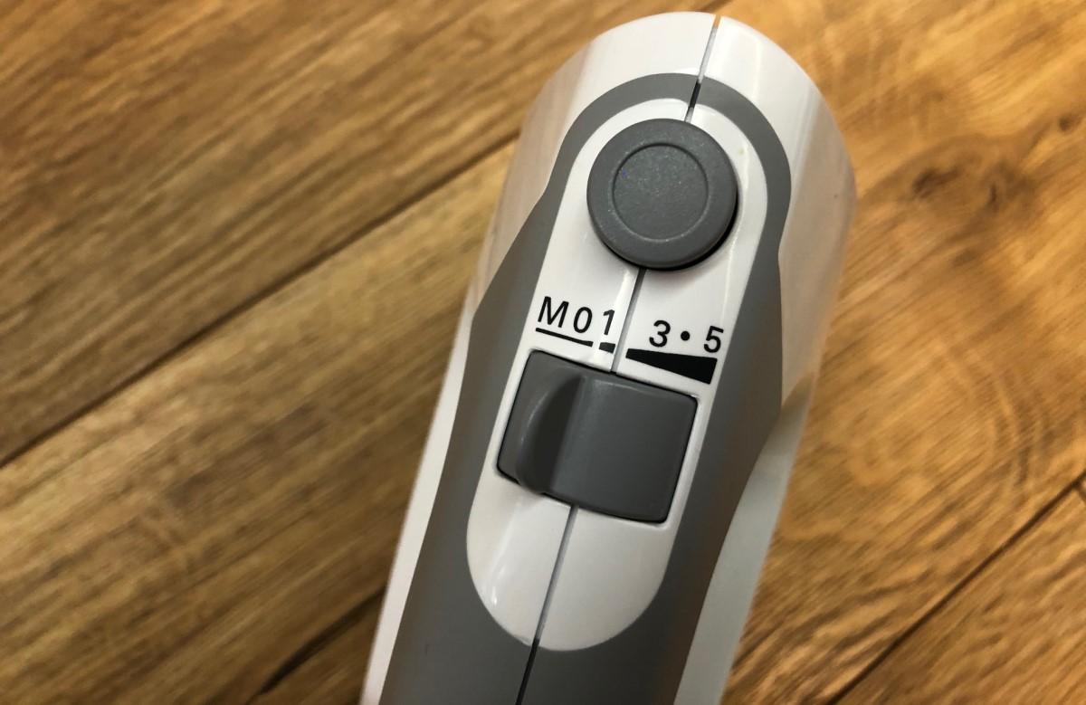 Bosch ErgoMixx MFQ 36400 regulacja intensywności miksowania