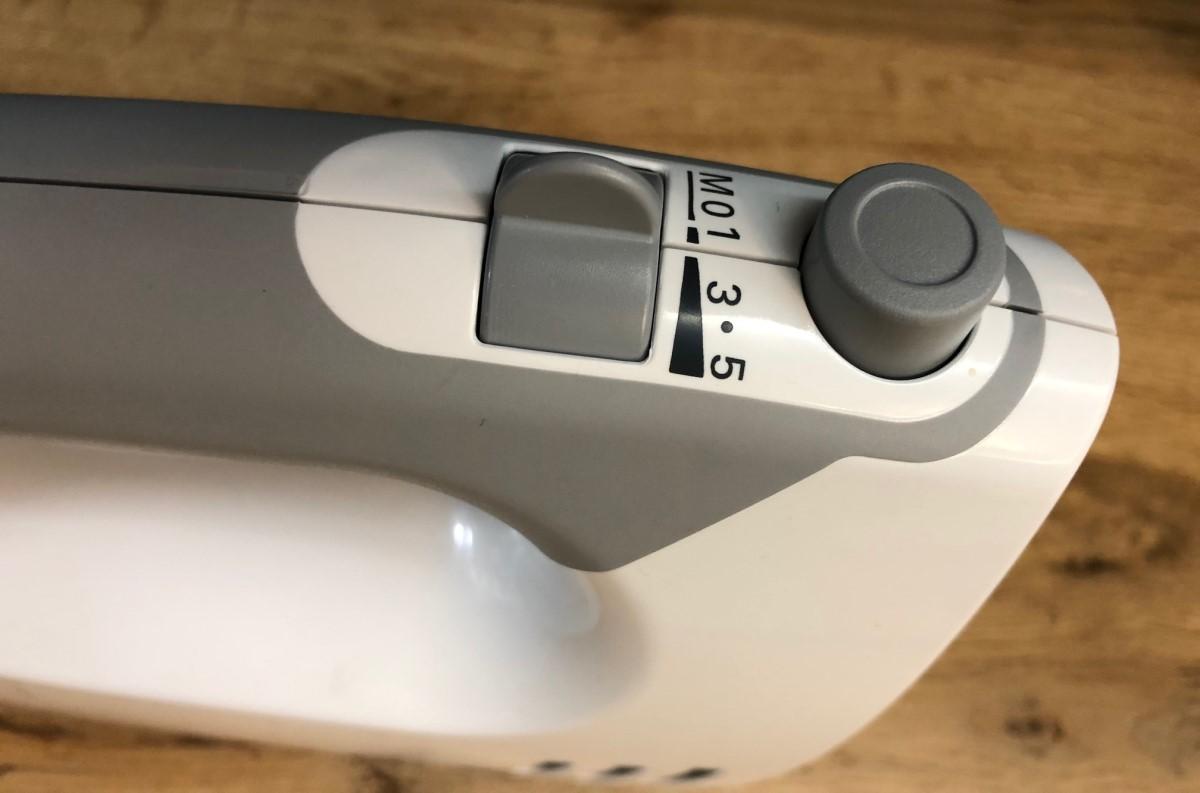 Bosch ErgoMixx MFQ 36400 przyciski na korpusie