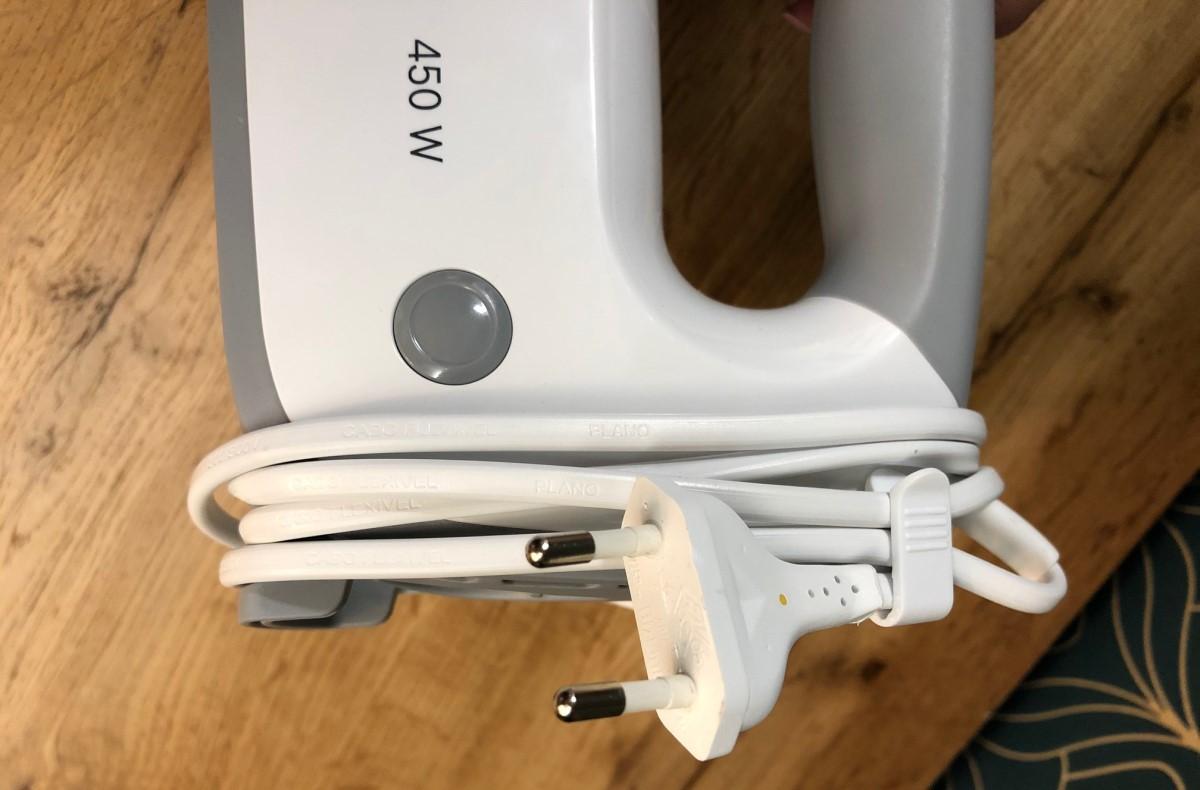 Bosch ErgoMixx MFQ 36400 zwinięty przewód zasilający
