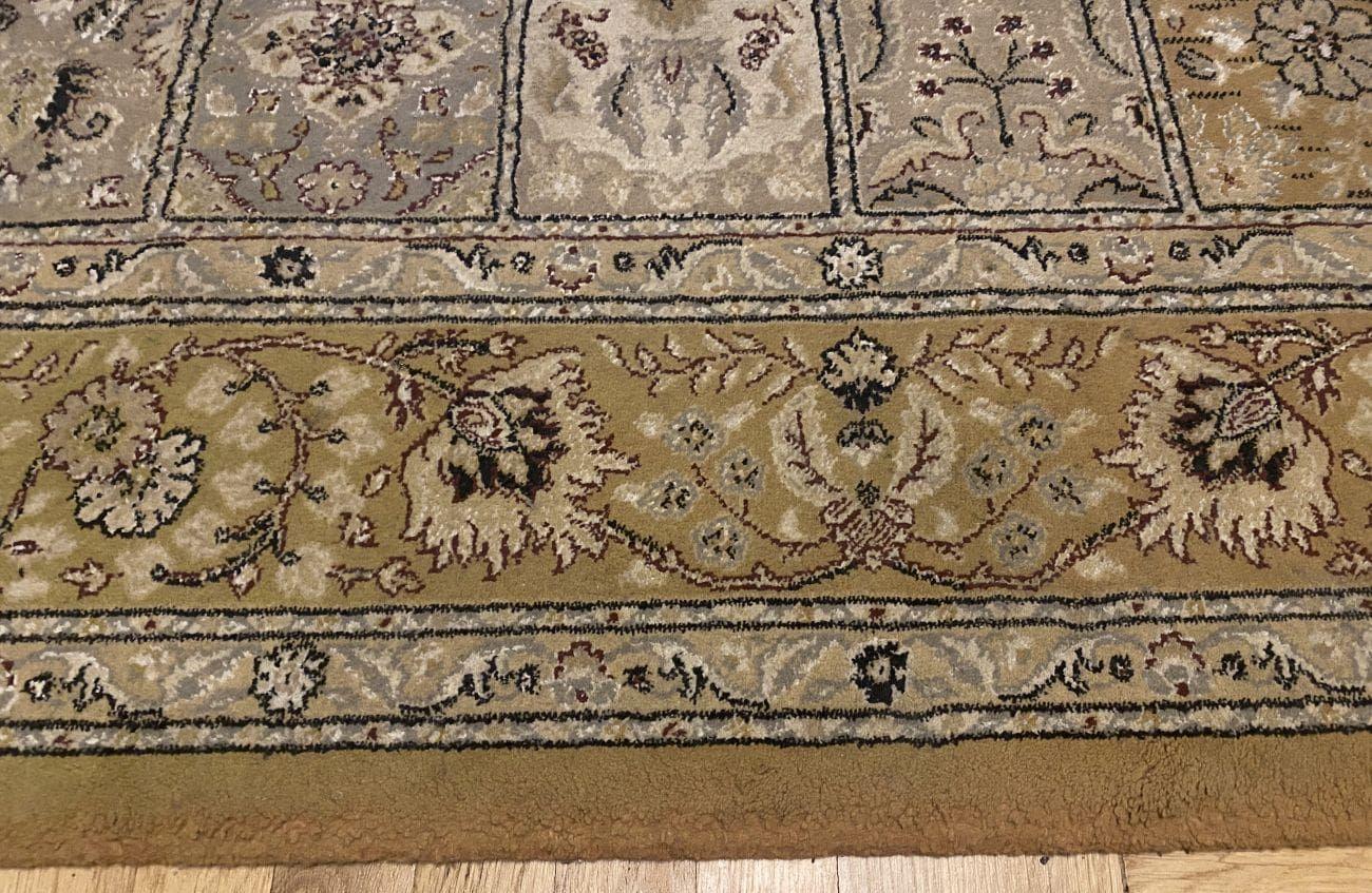 PURON PU20 czysty dywan po teście odkurzania kociej sierści