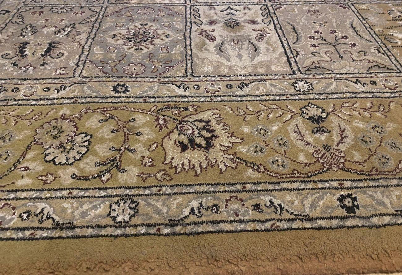 PURON PU20 czysty dywan po teście odkurzania kociej sierści 2