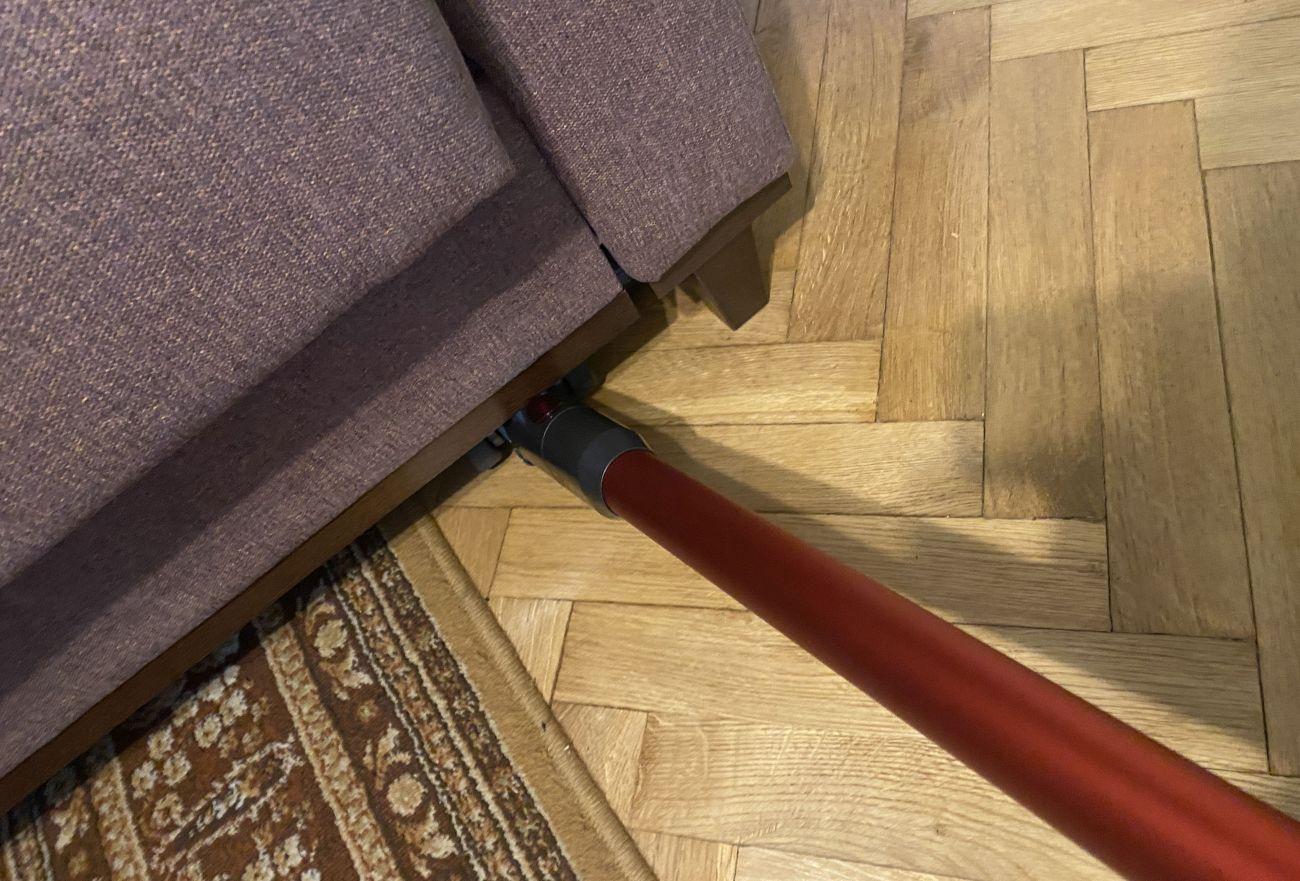 PURON PU20 wygodne odkurzanie pod sofą