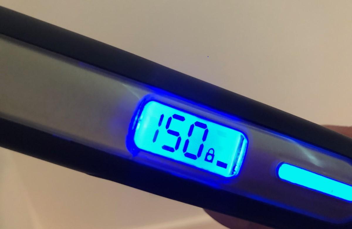 Remington S6500 włączona blokada temperatury prostowania włosów