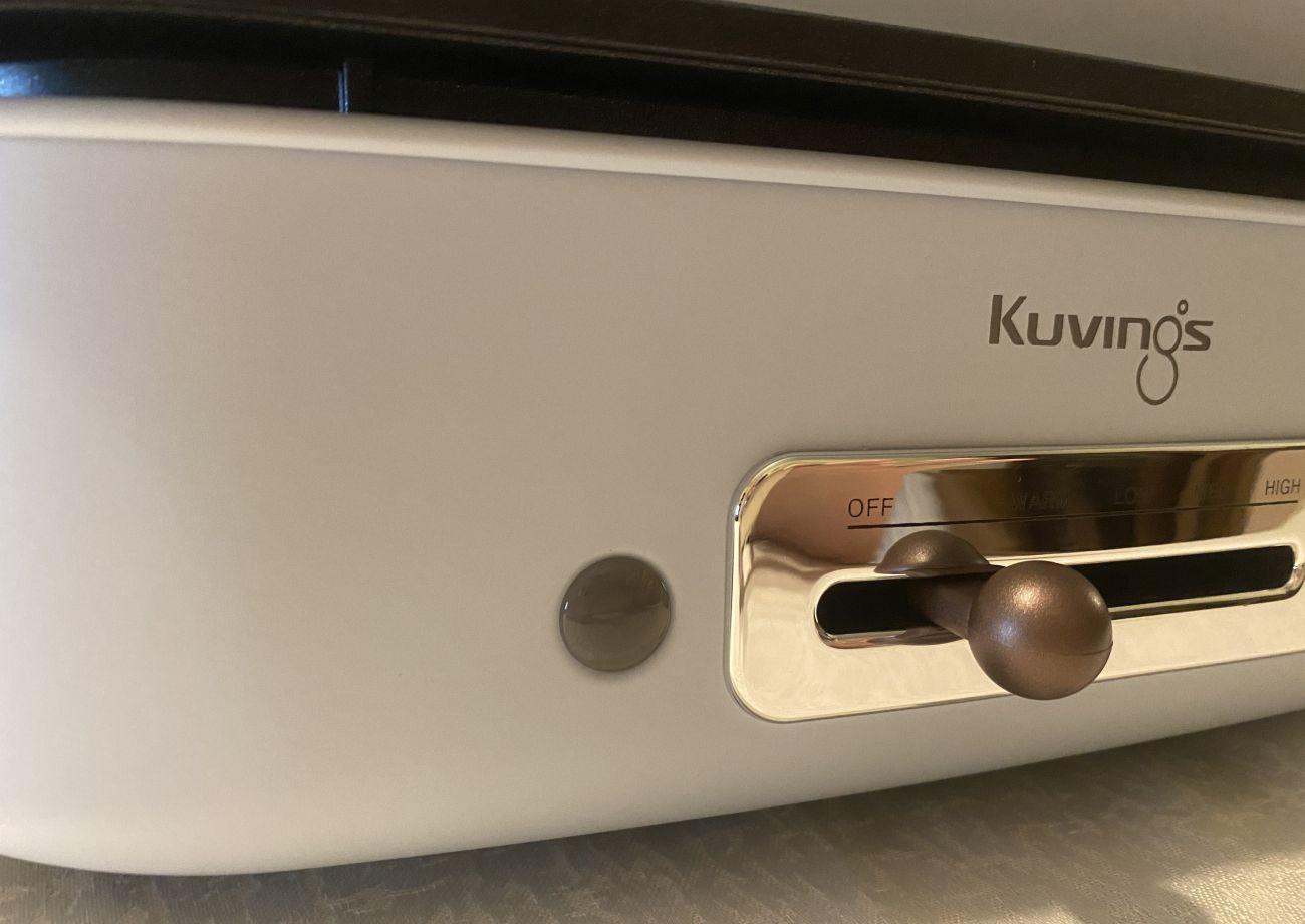 Kuvings MultiGrill czujnik temperatury z bliska