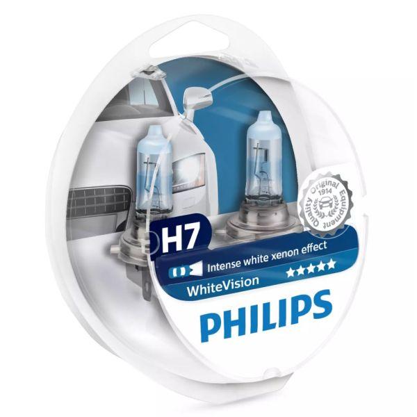 Dobre żarówki H7 Philips WhiteVision