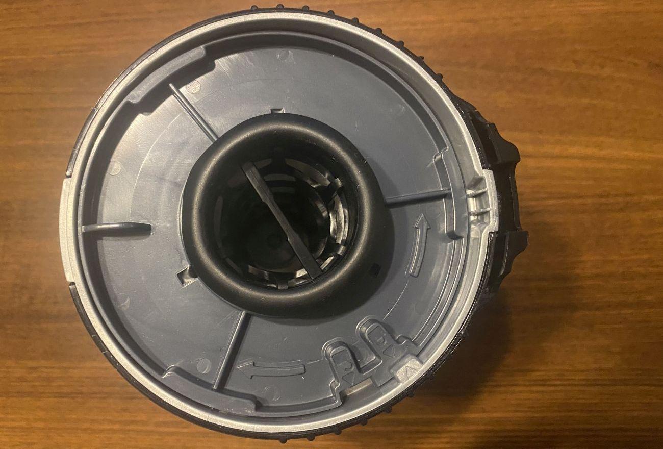 Tefal X-Force Flex 11.60 Aqua TY9890 mechanizm otwierania pojemnika