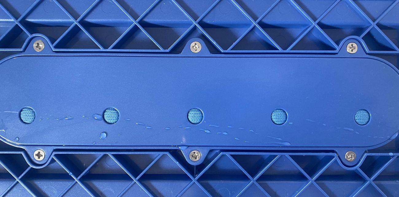 Tefal X-Force Flex 11.60 Aqua TY9890 punkty dozowania wody głowicy Aqua