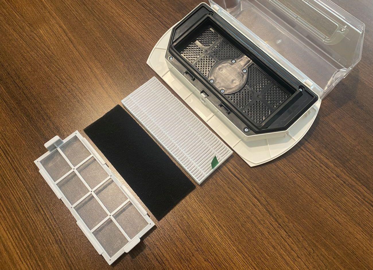 Tefal X-plorer Serie 75 RG7687 system filtracji