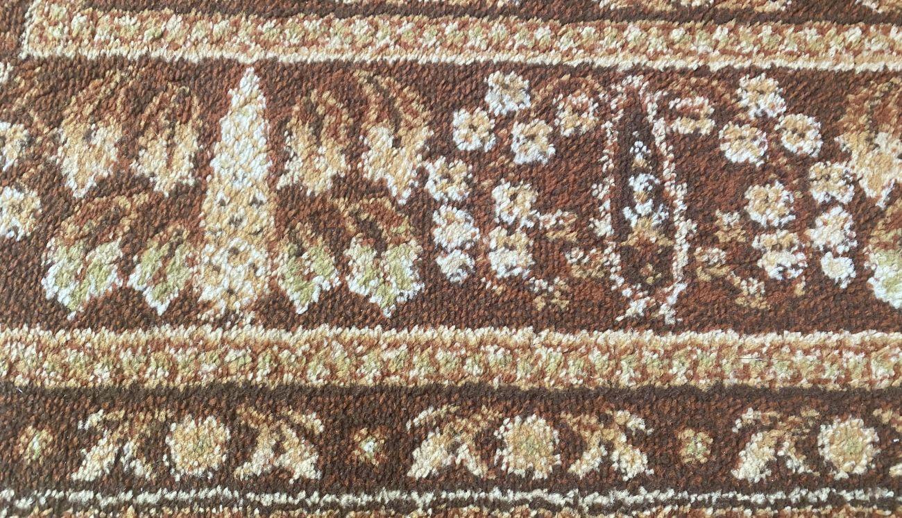 Czysty, odkurzony dywan po pierwszym teście robota Tefal X-plorer Serie 95 Animal RG7975