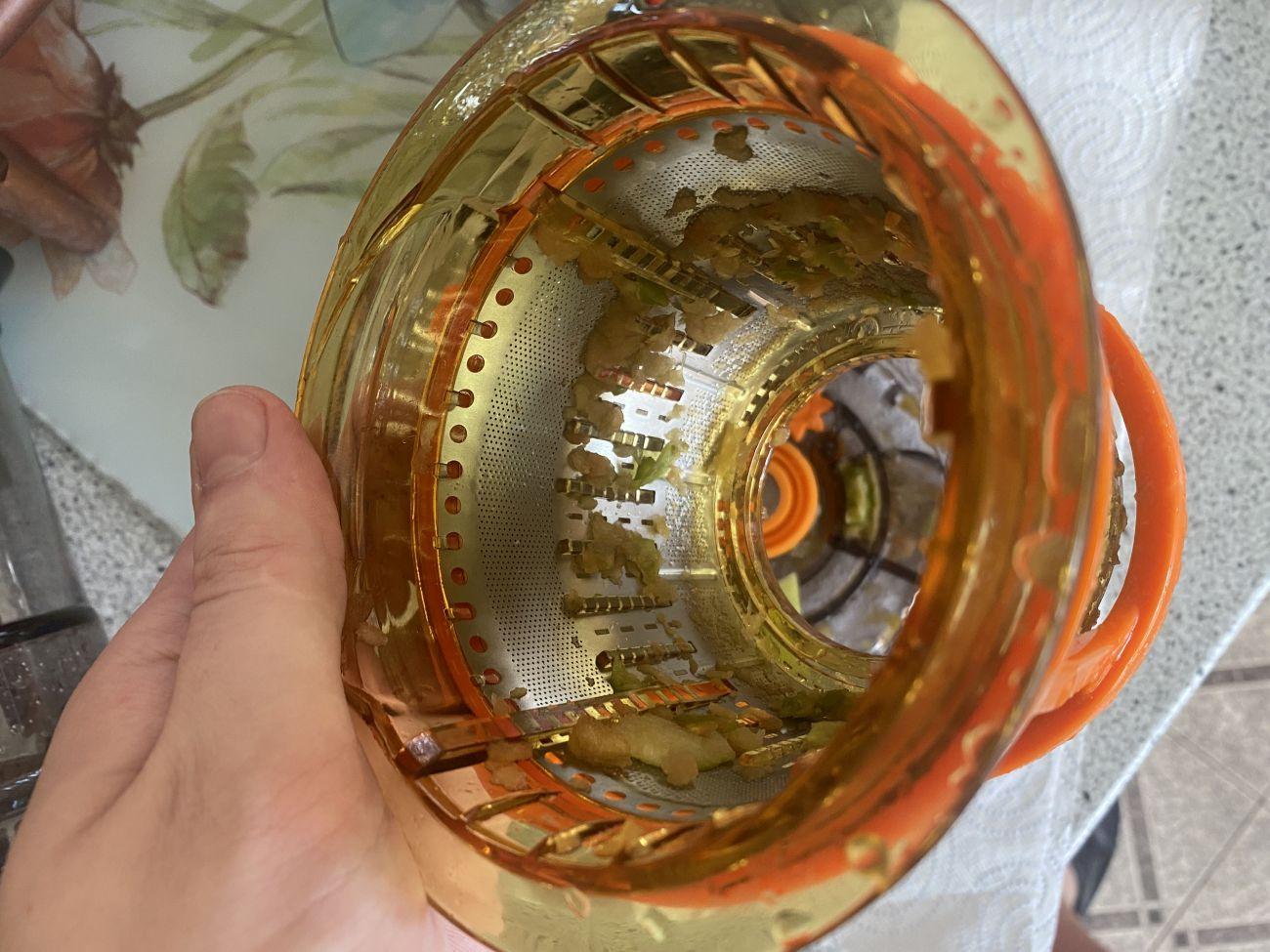 Götze & Jensen SJ901T sitko przygotowane do mycia