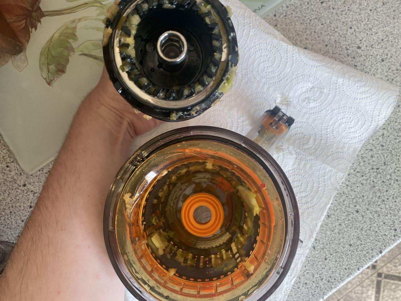 Götze & Jensen SJ901T stan sitka i wałka przygotowanych do mycia