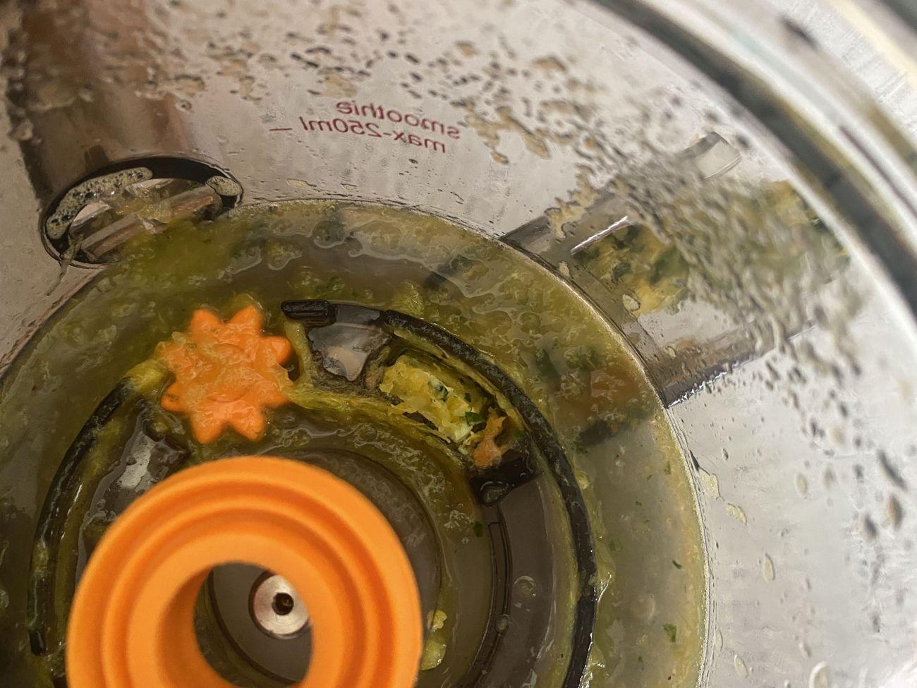 Götze & Jensen SJ901T zapchany wylot pulpy przygotowany do mycia